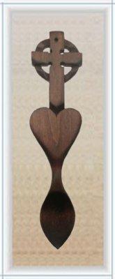 Christian Love Spoon