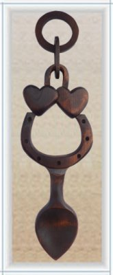 Good Luck Love Spoon (Large) - 015