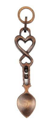Love Held Safe Lovespoon (Medium) - 016