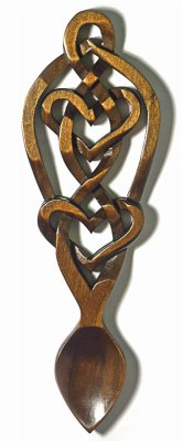 Eternal Knot Love Spoon - 030