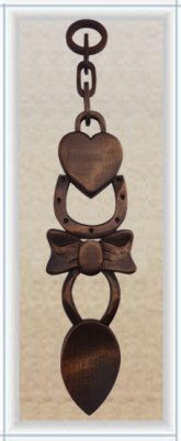 """Great Love"" Spoon (Large) - 017"
