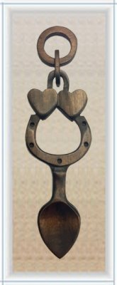 Good Luck Love Spoon (Medium) - 015a