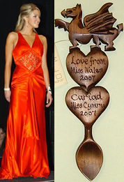 Miss Wales Love Spoon
