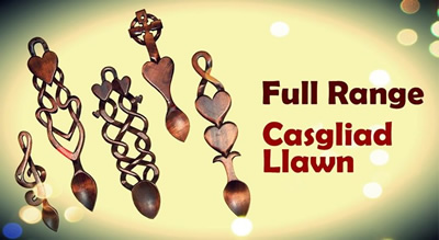 Welsh Love Spoons USA
